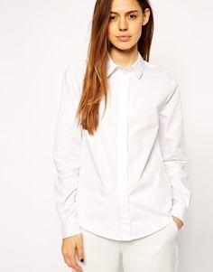 ASOS+Slim+Line+Boyfriend+Shirt