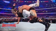 After The Wyatt Family interrupt The Rock, The Great one insists on an impromptu match with Erick Rowan: Courtesy of WWE Network. Wwe N, Erick Rowan, The Wyatt Family, Wrestlemania 32, Wwe Belts, Wwe Toys, Wwe Action Figures, Full Match, Royal Rumble