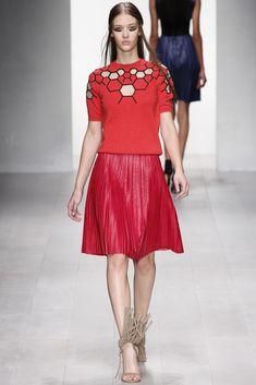 Marios Schwab Spring 2013 Ready-to-Wear Fashion Show - Elena Bartels