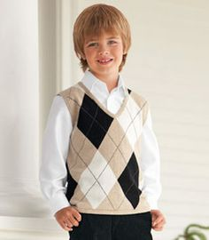 classic argyle vest - for all those special occasions on your family's calendar, this vest will have him looking picture perfect. it's as finely crafted as sweaters you find in fine men's clothing shops. dressy fine-gauge knit; impeccably finished throughout.
