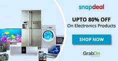 Ooh! Aah! Snapdeal's Summer Electronic Sale is Here. http://www.grabon.in/snapdeal-coupons/  #ElectronicSale #WeekendOffers #SaveOnGrabOn