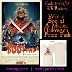 #Win Tyler Perry's #Boo2 A Madea #Halloween #Prize Pack  #ad #rmn #contest #giveaway #rafflecopter #movie #movies #blog
