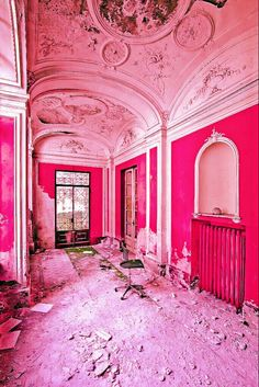 Pink broke down pala