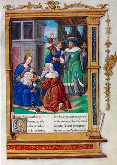 Biblioteca Digital Hispánica - 007-Evangeliario de París para uso de Carlos Duque de Angulema - 1500-1600