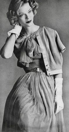 1957 Vogue editorial shot by Irving Penn