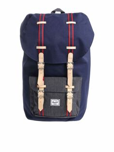 76baef645a3 HERSCHEL SUPPLY CO. BACKPACK LITTLE AMERICA.  herschelsupplyco.  bags   leather  lining  polyester  backpacks