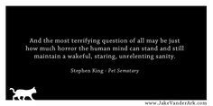 Quote: Stephen King - Pet Sematary