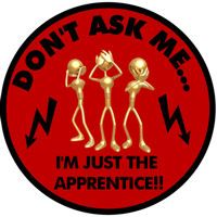 Linemen Stickers I'm just the apprentice!