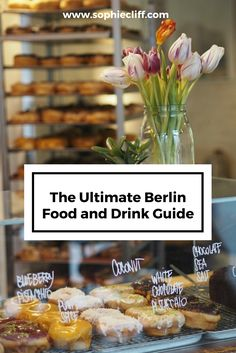 The Ultimate Berlin Food and Drink Guide. Wondering where to eat in Berlin? This post contains a list of the best bars and restaurants in Berlin. Repin to save for later!