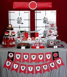 Ninjago Birthday party - how fun!