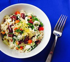 #Cookclub recipe #18 is Mediterranean Rice Salad.