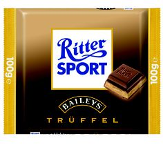 RITTER SPORT Baileys Trüffel (2003). How did I miss this?