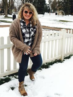 Winter style for the curvy girl!