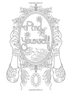bitch  adult coloring page  swear 14 free printable coloring pages visit swearstressaway