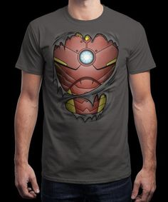 """""""Billionaire Armor"""" is today's £8/€10/$12 tee for 24 hours only on www.Qwertee.com Pin this for a chance to win a FREE TEE this weekend. Follow us on pinterest.com/qwertee for a second! Thanks:)"""