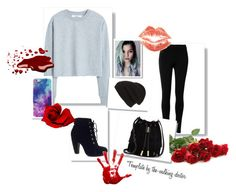 """""""Untitled #377"""" by kingbella on Polyvore featuring Max Studio, MANGO, Phase 3, Bamboo and Vince Camuto"""