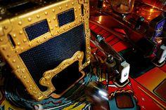 "Close-up of the ""Theatre of Magic"" magic trunk"