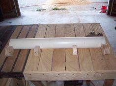 My under $100 wide drum sander (a work in progress)