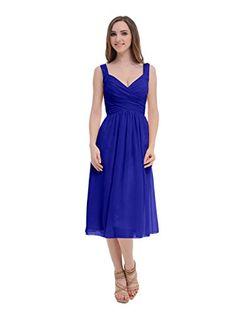 Tidetell Simple Spaghetti Bridesmaid Long Chiffon Prom Evening Dresses Royal blue Size 20W Tidetell http://www.amazon.com/dp/B00T2LLF1Q/ref=cm_sw_r_pi_dp_2Ogavb0GNATZP
