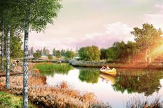 Gallery - Turenscape and MAP Chosen to Redevelop Kazan's Kaban Lake Embankments - 3