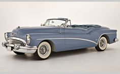 1953 Buick Skylark....sigh....the closest thing I had to this was a 1963 Buick Special...which wasn't really that close at all.