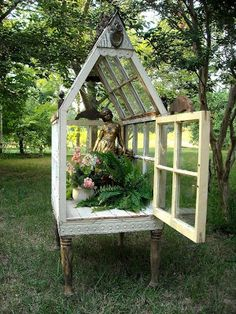 *The Brambleberry Cottage*: Tips and Tricks Tuesday #8 - How to Make a Yard Conservatory