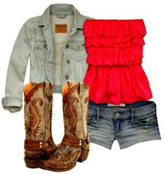 Summer Outfit # Country Life