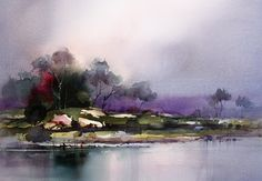 Pool - Painting Water  (some great tips from John Lovett)