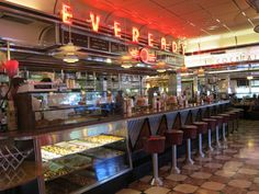 diner counter - Google Search