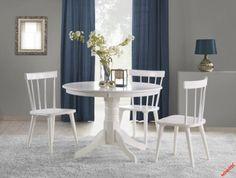 Jídelní kulatý stůl Gloster Dining Set, Dining Chairs, Dining Table, Ikea Nursery, Clock Decor, Body Pillow Covers, Home Textile, All Modern, Home Kitchens