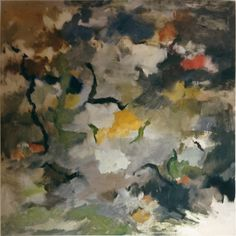 John stephan, Untitled, 1957  Oil on canvas, 56 x 56 inches