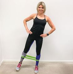 7 övningar med miniband Planet Fitness Workout, Health Fitness, Certified Trainer, Aerobics Workout, Group Fitness, Excercise, Strength Training, Body Care, Pilates
