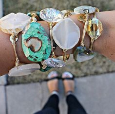 Bourbon & Boweties - stack available at Apricot Lane Peoria, IL & Apricot Lane Normal, IL - do you bangle? #doyoubangle