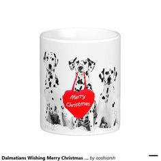 #gift this #nice #Dalmatians wishing #MerryChristmas #mug  to your #friends #HolidaySeason price lower than on #amazon and #ebay #bestbuy #deals #newyears #lowestprice  order now and get it before #Christmas