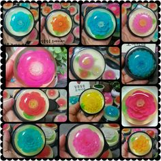 3D jelly flower It made with  syringe... I love jelly~♡♡♡