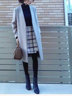 a0724d769bdf62 50件】コーデ |おすすめ画像| 2019 | Moda Coreana、Moda de invierno ...