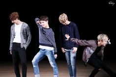 The China line is trying to be cool unlike Dino & Hoshi... | ©CHEER UP! | do not crop/edit photo