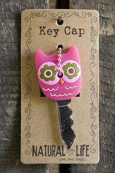 Owl Key Cap - DIY Fimo Idea