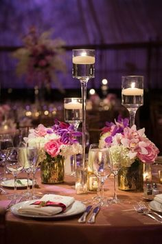 wedding centerpiece idea; Brian Hatton Photography