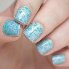Gradient Nail Art Stamping Tutorial