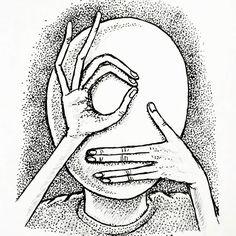 #abstract #face #drawing #doodle #ink #pen #inkdrawing #blackandwhite #art #abstractdrawing #abstractart #weird #weirddrawing #instadrawing #instaart #instaartist #myart #hands #surreal #surrealism #creepy
