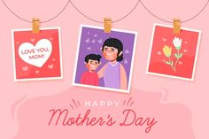 Discover thousands of free-copyright vectors on Freepik Happy Mother's Day Card, Happy Mother's Day Greetings, Mothers Day Event, Happy Mothers Day, Banners, Mother's Day Theme, Mother's Day Background, Design Floral, Mother's Day Greeting Cards