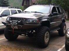 99 wj grand cherokee custom bumper. No this is it!!!! Love it