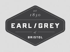 Earl/Grey by Jonathan Faust, via Behance Vintage typography, branding, packaging Logos, Logo Branding, Branding Design, Logo Design, Branding Ideas, Vintage Typography, Graphic Design Typography, Brand Packaging, Beer Packaging