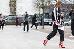 Sunday's Inspiration: London Fashion Week Streetstyle | BeSugarandSpice - Fashion Blog
