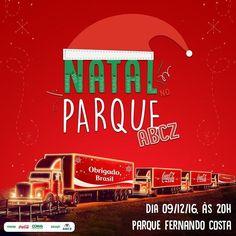 Não se esqueça: hoje tem Natal no Parque ABCZ! | IG: @Abcz.pmgz