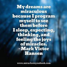 #dreams #believe #quote