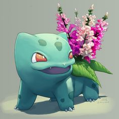 Snapdragon Bulbasaur! Commissioned by @sometimesvictini