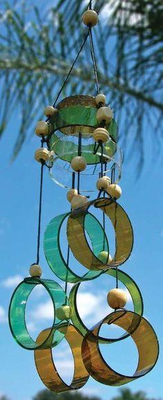 The Best one of Glass Wind Chimes Bottle Crafts Ideas 05 on my Articles, Glass Wind Chimes Bottle Crafts. Extraordinary Glass Wind Chimes Bottle Crafts You Can Pick. Glass Bottle Crafts, Wine Bottle Art, Glass Bottles, Cut Bottles, Wine Bottle Garden, Wine Bottle Windchimes, Cutting Bottles, Bottle Candles, Empty Bottles