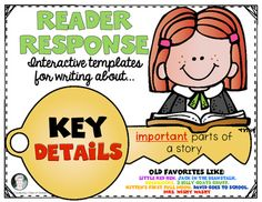 Fun Poster Templates Singing About Story Elements Ela Common Core Reading For Kinder .